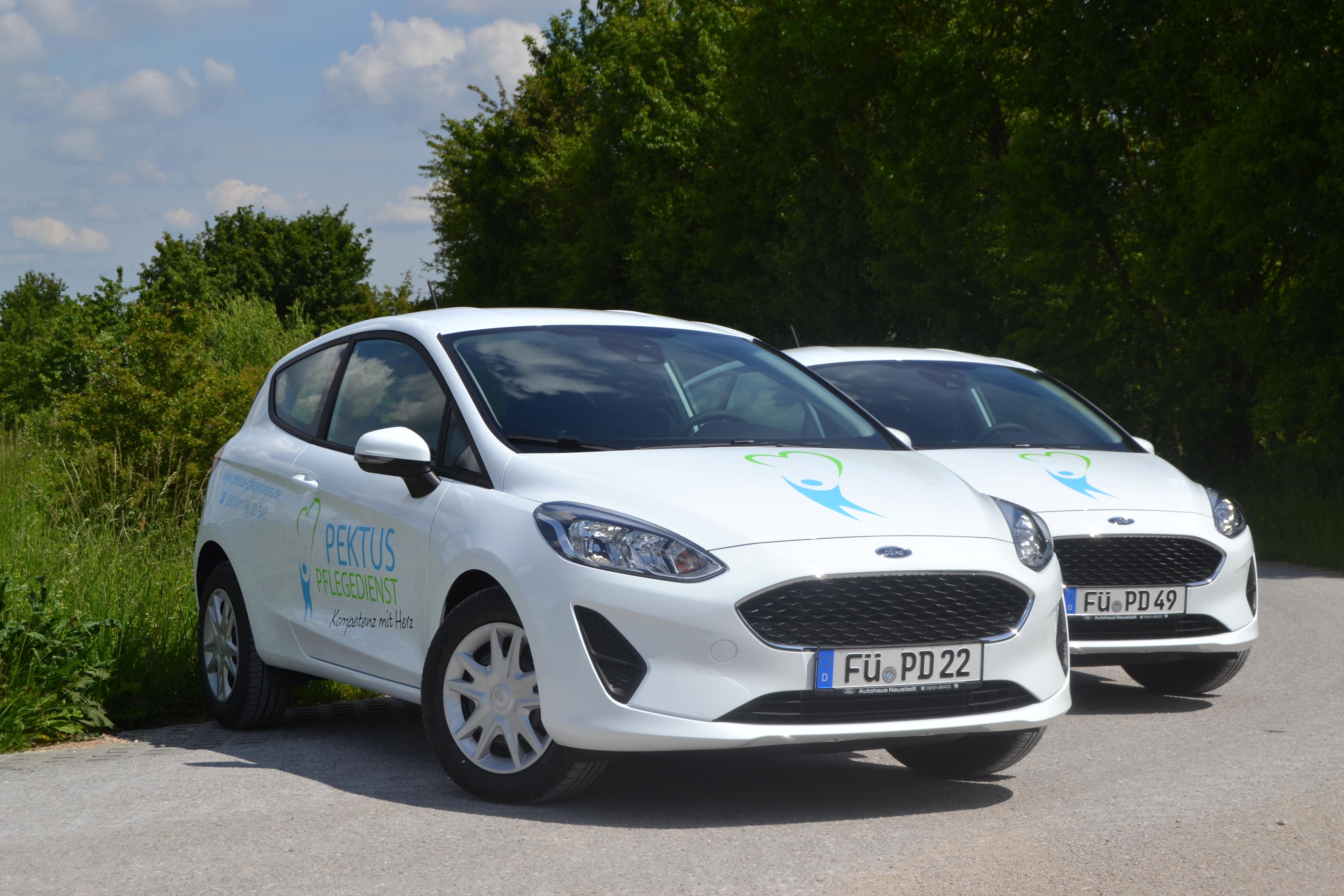 Zwei Neue Ford Fiesta Für Den Pflegedienst Pektus